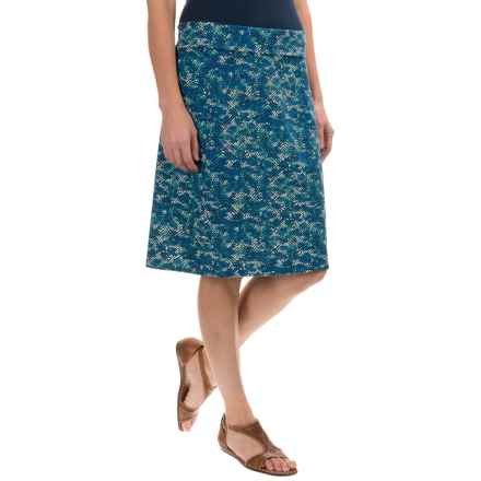 Royal Robbins Essential Tie-Diamond Skirt (For Women) in Dark Lapis - Closeouts