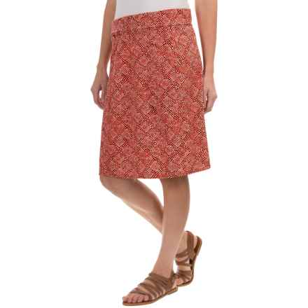 Royal Robbins Essential Tie-Diamond Skirt (For Women) in Pimento - Closeouts