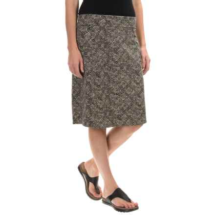 Royal Robbins Essential Tie-Diamond Skirt (For Women) in Taupe - Closeouts
