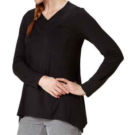 Royal Robbins Essential Tunic Shirt - UPF 50+, TENCEL® Stretch Jersey, Long Sleeve (For Women) in Jet Black - Closeouts