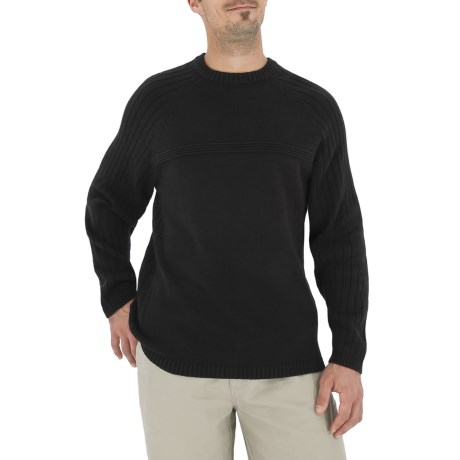Royal Robbins Everest Crew Sweater - Long Sleeve (For Men) in Jet Black
