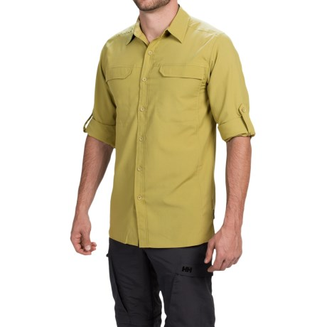 Royal Robbins Excursion Shirt - UPF 25+, Long Sleeve (For Men) in Wheat