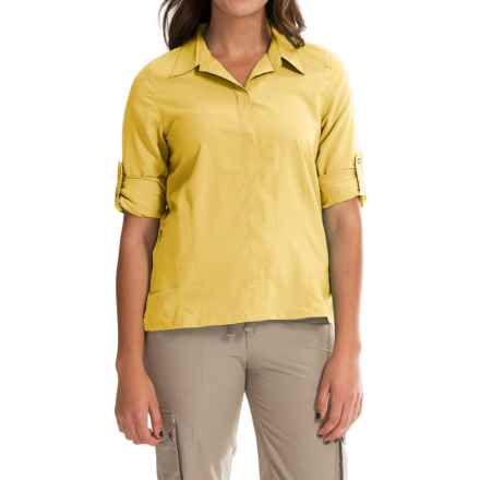 Royal Robbins Excursion Shirt - UPF 25+, Long Sleeve (For Women) in Daffodil - Closeouts
