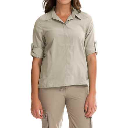 Royal Robbins Excursion Shirt - UPF 25+, Long Sleeve (For Women) in Soapstone - Closeouts
