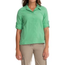 Royal Robbins Excursion Shirt - UPF 25+, Long Sleeve (For Women) in Spearmint - Closeouts