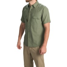Royal Robbins Excursion Stretch Shirt - UPF 25+, Short Sleeve (For Men) in Canopy - Closeouts