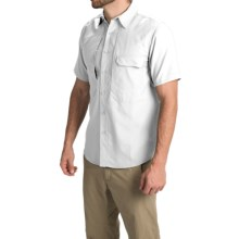 Royal Robbins Excursion Stretch Shirt - UPF 25+, Short Sleeve (For Men) in White - Closeouts