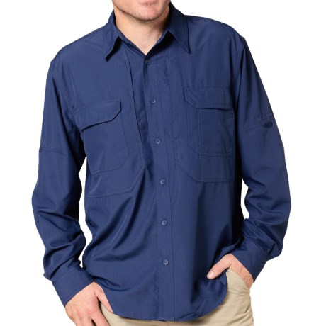 Royal Robbins Expedition Light Shirt - UPF 50+, Long Sleeve (For Men) in Deep Blue Moon