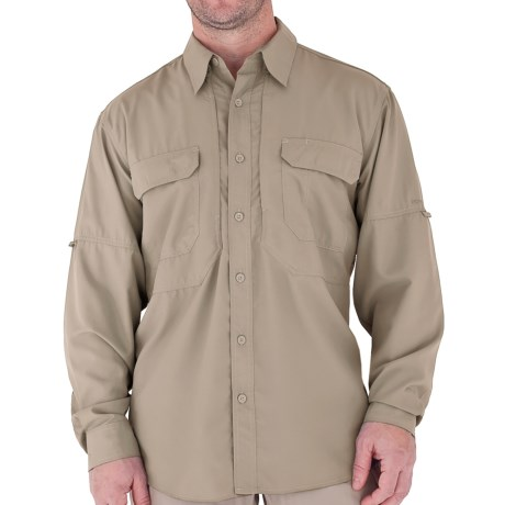 Royal Robbins Expedition Light Shirt - UPF 50+, Long Sleeve (For Men) in Sandstone