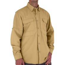 Royal Robbins Expedition Light Shirt - UPF 50+, Long Sleeve (For Men) in Straw - Closeouts