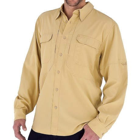 Royal Robbins Expedition Light Shirt - UPF 50+, Long Sleeve (For Men) in Wheat