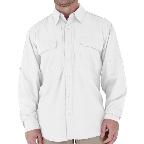 Royal Robbins Expedition Light Shirt - UPF 50+, Long Sleeve (For Men) in White