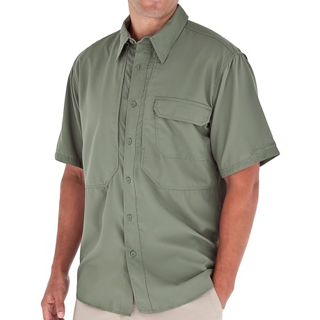 Royal Robbins Expedition Light Shirt - UPF 50+, Short Sleeve (For Men) in Canopy