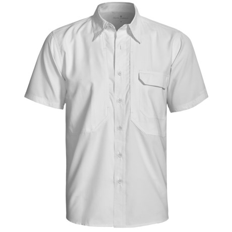 Royal Robbins Expedition Light Shirt - UPF 50+, Short Sleeve (For Men) in White