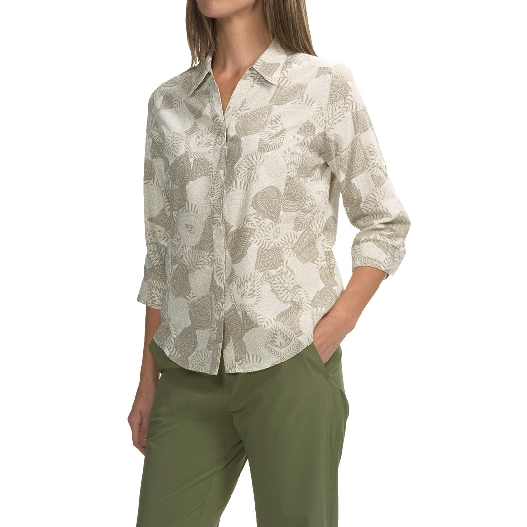 Royal robbins expedition printed shirt for women save 68 for Royal robbins expedition shirt 3 4 sleeve women s