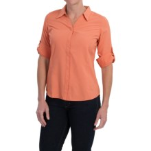 Royal Robbins Expedition Shirt - UPF 40+, 3/4 Sleeve (For Women) in Salmon - Closeouts