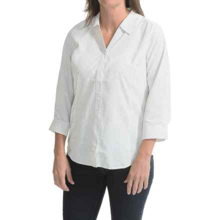 Royal Robbins Expedition Shirt - UPF 40+, 3/4 Sleeve (For Women) in White - Closeouts