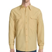 Royal Robbins Expedition Shirt - UPF 50, Long Sleeve (For Men) in Straw - Closeouts