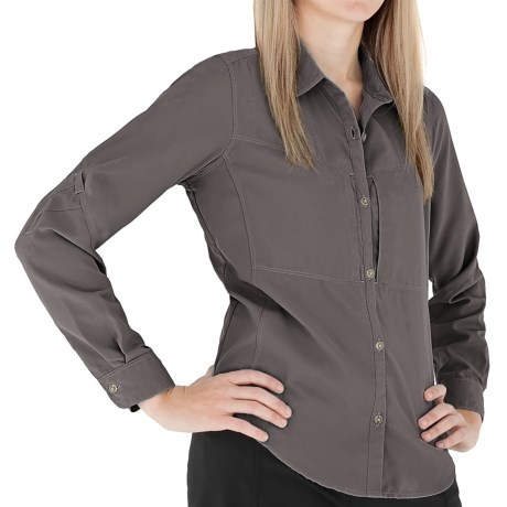 Royal Robbins Expedition Shirt - UPF 50+, Long Sleeve (For Women) in Arrowhead