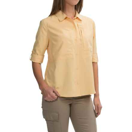 Royal Robbins Expedition Shirt - UPF 50+, Long Sleeve (For Women) in Butter - Closeouts