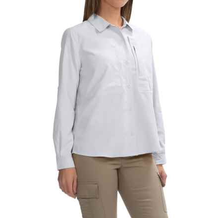 Royal Robbins Expedition Shirt - UPF 50+, Long Sleeve (For Women) in White - Closeouts