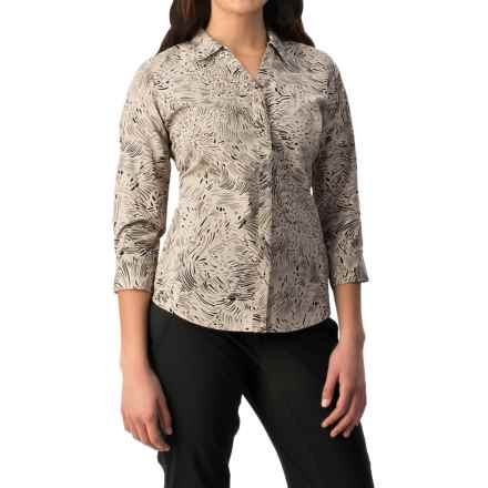 Royal Robbins Expedition Stretch Shirt - UPF 50+, 3/4 Sleeve (For Women) in Sandstone - Closeouts