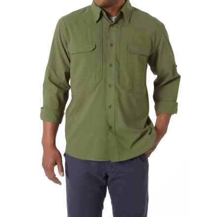 Royal Robbins Expedition Stretch Shirt - UPF 50+, Long Sleeve (For Men) in Aloe - Closeouts