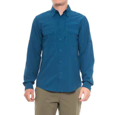 Royal Robbins Expedition Stretch Shirt - UPF 50+, Long Sleeve (For Men) in Deep Blue Mo - Closeouts
