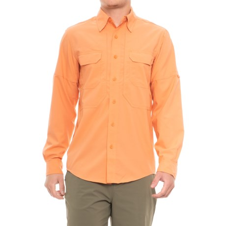 Royal Robbins Expedition Stretch Shirt - UPF 50+, Long Sleeve (For Men) in Salmon