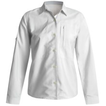 Royal Robbins Extreme Expedition Shirt - CoolMax®, Long Sleeve (For Women) in White - Closeouts