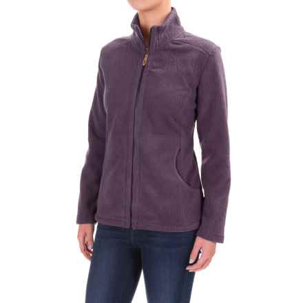 Royal Robbins Fallen Leaves Fleece Jacket (For Women) in Dark Violet - Closeouts