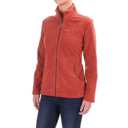 Royal Robbins Fallen Leaves Fleece Jacket (For Women) in Ruby - Closeouts