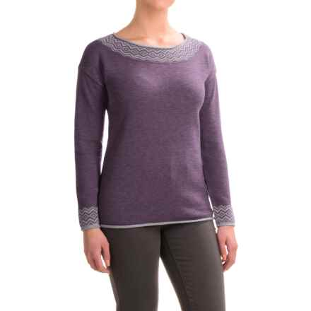Royal Robbins Feather Peak Sweater (For Women) in Dark Violet - Closeouts