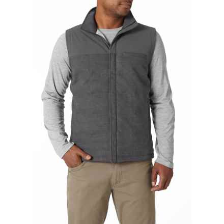 Royal Robbins Field Vest - Insulated (For Men) in Charcoal - Closeouts