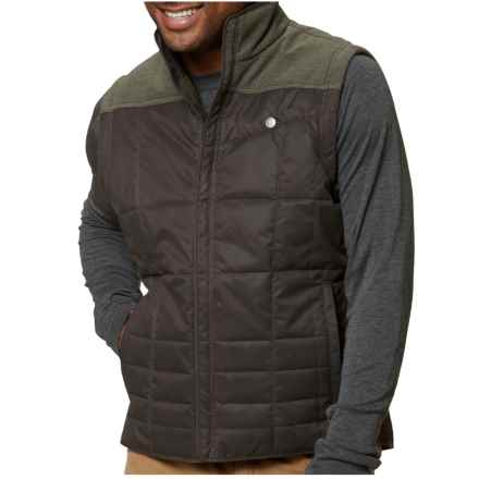 Royal Robbins Field Vest - Insulated (For Men) in Dark Galaxy Green - Closeouts