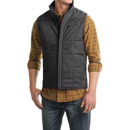 Royal Robbins Field Vest - UPF 50+, Insulated (For Men) in Charcoal - Closeouts