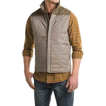 Royal Robbins Field Vest - UPF 50+, Insulated (For Men) in Taupe - Closeouts