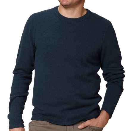 Royal Robbins Fireside Wool Crew Sweater - Wool Blend (For Men) in Deep Blue - Closeouts