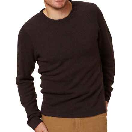 Royal Robbins Fireside Wool Crew Sweater - Wool Blend (For Men) in Petrified Oak - Closeouts