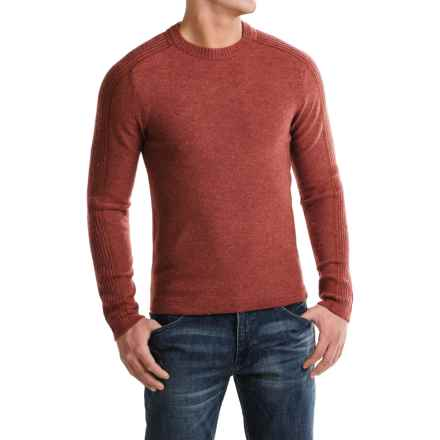Royal Robbins Fireside Wool Sweater - Crew Neck (For Men) in Dark Ember - Closeouts
