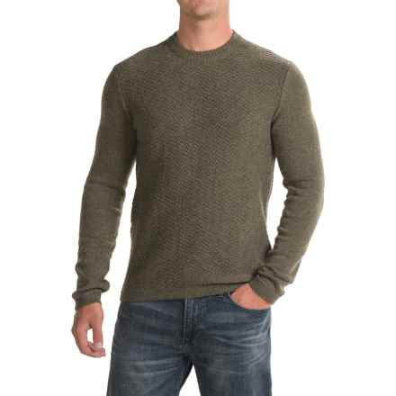 Royal Robbins Fireside Wool Sweater - Crew Neck (For Men) in Dark Olive - Closeouts