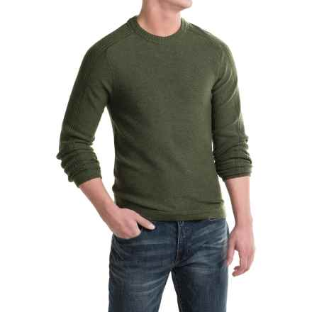 Royal Robbins Fireside Wool Sweater - Crew Neck (For Men) in Mangrove Green - Closeouts