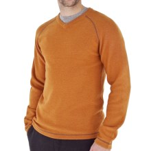 Royal Robbins Fireside Wool V-Neck Sweater - Wool Blend (For Men) in Spice - Closeouts