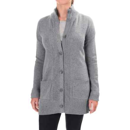 Royal Robbins First Fleet CarSweater Coat - Merino Wool (For Women) in Pewter - Closeouts