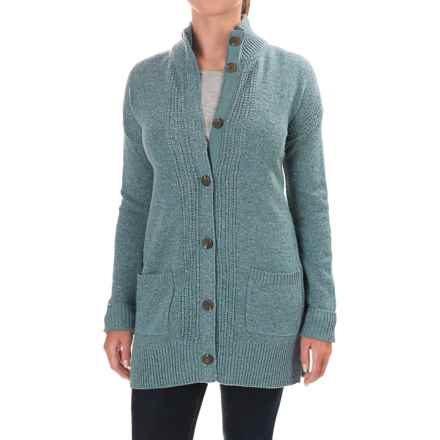 Royal Robbins First Fleet CarSweater Coat - Merino Wool (For Women) in Robins Egg - Closeouts