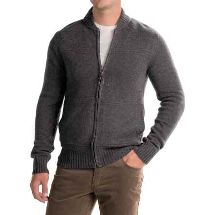 Royal Robbins First Fleet Sweater - Merino Wool, Zip Front (For Men) in Charcoal - Closeouts