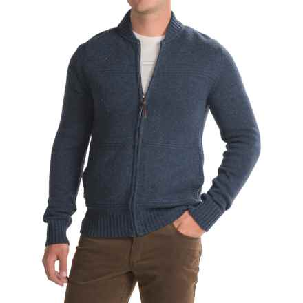 Royal Robbins First Fleet Sweater - Merino Wool, Zip Front (For Men) in Navy - Closeouts