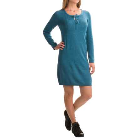 Royal Robbins First Light Knit Sweater Dress - Long Sleeve (For Women) in Peninsula - Closeouts