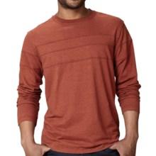 Royal Robbins Flynn T-Shirt - Long Sleeve (For Men) in Dark Ember - Closeouts