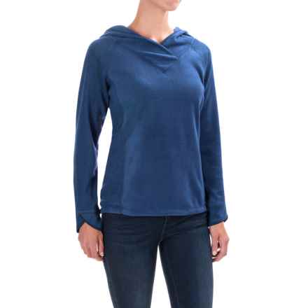 Royal Robbins Foxtail Fleece Hoodie - UPF 50+ (For Women) in Twilight Blue - Closeouts